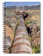 Old Wooden Water Pipeline - Rural Idaho Spiral Notebook