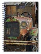 Old Work Horse Spiral Notebook