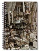 Old World Market Spiral Notebook
