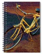 Old Yellow Spiral Notebook