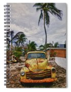 Old Yellow Truck Florida Spiral Notebook