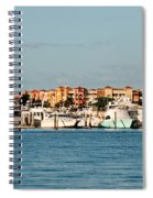 Olde Naples Seaport Spiral Notebook