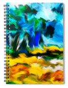 Olive Trees In The Manner Of Van Gogh Spiral Notebook