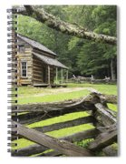 Oliver Cabin In Cade's Cove Spiral Notebook