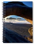 Olympic Drift Logs Spiral Notebook