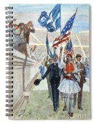 Olympic Games, 1896 Spiral Notebook