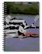 Olympic Lightweight Double Sculls Spiral Notebook