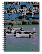 Olympic Rowing Spiral Notebook