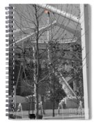 Olympic Torch - Athens Summer Games Spiral Notebook