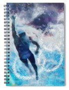 Olympics Swimming 01 Spiral Notebook
