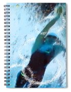 Olympics Swimming 02 Spiral Notebook