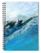 Olympics Swimming 03 Spiral Notebook