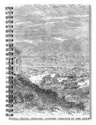 Omaha, Nebraska, 1869 Spiral Notebook