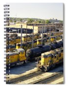 Omaha Union Pacific Maintenance Shops Spiral Notebook