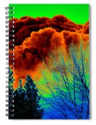 Ominous Cloudfront Spiral Notebook