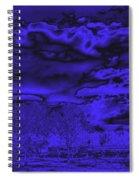 Ominous Spiral Notebook