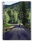 On A Country Road - Vail Spiral Notebook