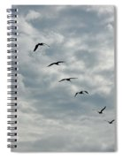 On A Mission Squared Spiral Notebook