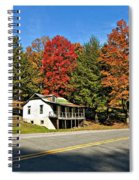 On A West Virginia Road Spiral Notebook