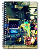 On Hollywood Boulevard In La Spiral Notebook