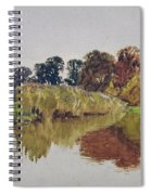 On The Arun Stoke Sussex  Spiral Notebook