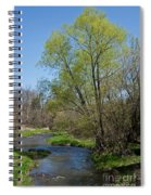 On The Banks Of Spring Spiral Notebook