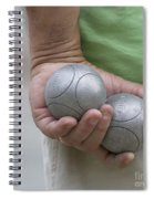 On The Boules Pitch Spiral Notebook