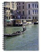 On The Canal In Venice Spiral Notebook