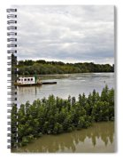 On The Danube Spiral Notebook