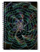 On The Dark Side Spiral Notebook