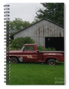 On The Farm Spiral Notebook