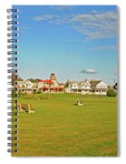 On The Green At Marthas Vineyard Spiral Notebook