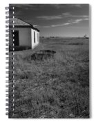 On The Hi-lo Plains Spiral Notebook