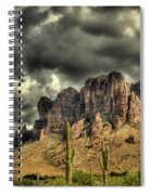 On The Mountain Spiral Notebook