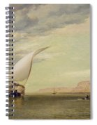 On The Nile Spiral Notebook