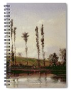 On The Outskirts Of Paris Spiral Notebook
