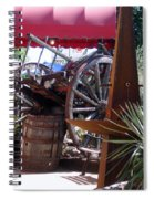 On The Patio Spiral Notebook