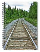 On The Rails Spiral Notebook
