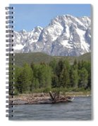 On The Snake River Spiral Notebook