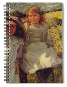 On The Stile Spiral Notebook