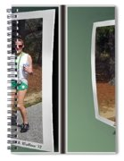 On The Trail - Gently Cross Your Eyes And Focus On The Middle Image That Appears Spiral Notebook