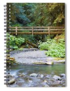 On The Trail To Marymere Spiral Notebook