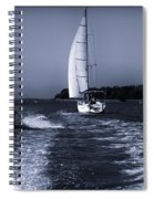On The Water 1 - Venice Spiral Notebook