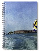 On The Water 2 - Venice Spiral Notebook
