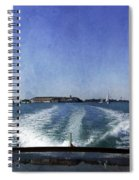 On The Water 5 - Venice Spiral Notebook