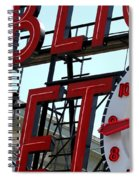On The Wharf  Spiral Notebook