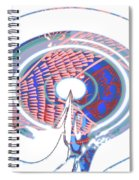 On Wings Of Prayer Spiral Notebook