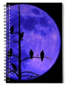 Once In A Blue Moon  Spiral Notebook