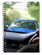 Oncoming Traffic Spiral Notebook