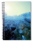 One Blue Morning Spiral Notebook